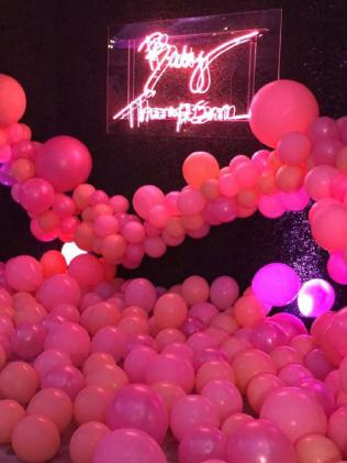 Inside Khloe's amazing baby shower.