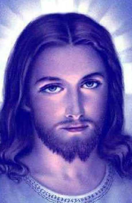 The pale, blue-eyed Jesus popularised in Western culture. Picture: Supplied