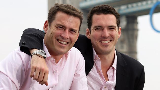 Karl (left) and Peter Stefanovic.