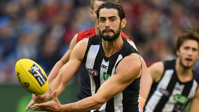 Brodie Grundy is free to play in Round 1 after copping a fine for his bump on Tory Dickson.