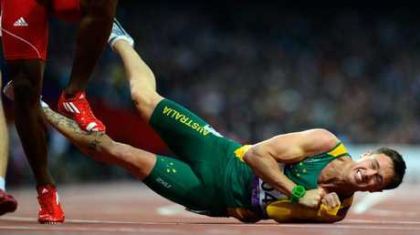 Patmore won silver in the 200m in London despite falling at the finish line.