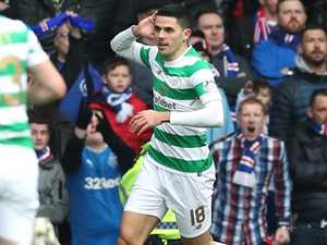 Astonishing Rogic blast in breathless Old Firm Derby