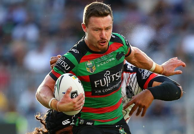 Damien Cook played 80 minutes for the Rabbitohs.