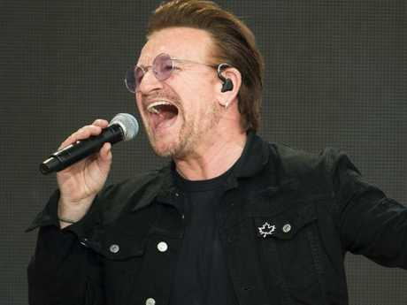 'We are all deeply sorry'. U2 singer Bono has spoken out about the 'toxic' culture at his charity, The One Campaign. Picture: AFP