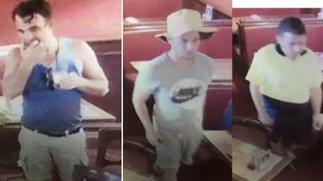 Queensland police are searching for a group of Irish tourists accused of a number of scams and thefts between Brisbane and Gold Coast. Picture: AAP Image/Queensland Police