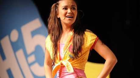 She was in the kids entertainment group Hi-5. Picture: Supplied