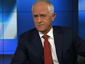 Malcolm Turnbull's heated exchange over polls
