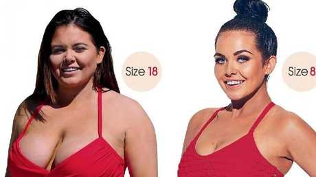 Scarlett Moffatt weight loss plan. Picture: The Sun