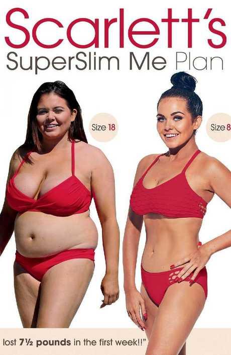Scarlett Moffatt weight loss plan. Picture: The Sun