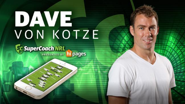 Former SuperCoach NRL champion Dave Von Kotze.
