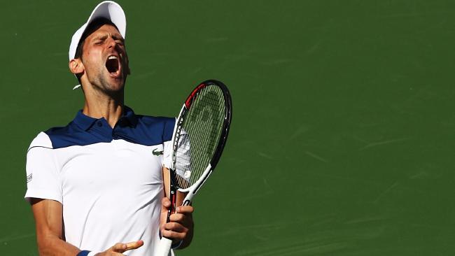 Novak Djokovic is suffering an alarming slide.