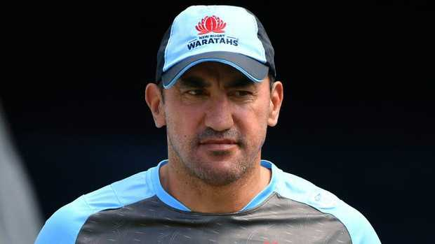Daryl Gibson is staying at the Waratahs.