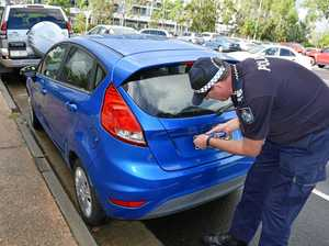 Police report number plate thefts rise in Maroochydore