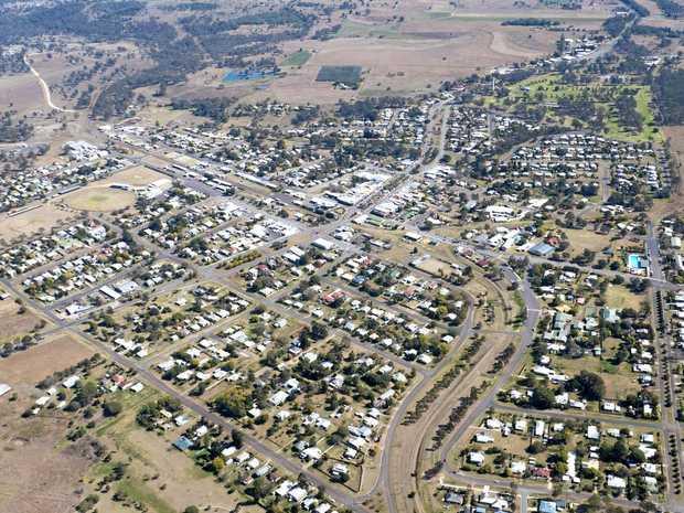 Murgon Aerial South Burnett