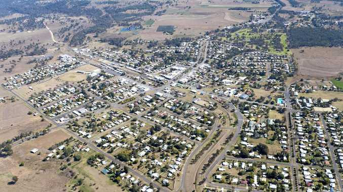 Murgon Aerial South Burnett