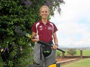 Lockyer goalie makes national hockey titles