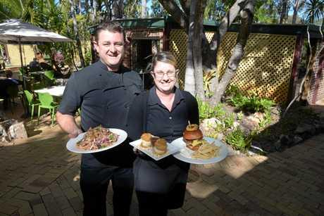 Penny Lane Gardens Restaurant owners Joseph and Liz Conroy.