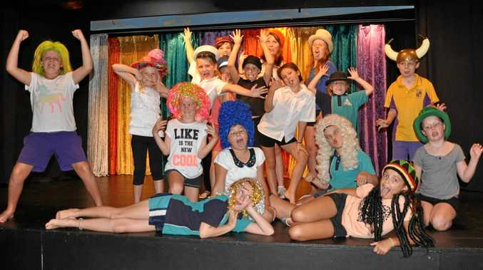 LIFE'S A STAGE: Footlights Theatre School has been guiding its students in drama fun for 20 years.