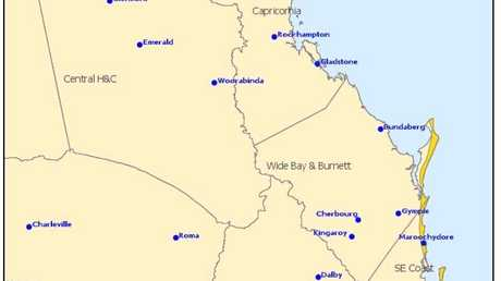 BOM Severe Weather Warning: Dangerous surf for people in parts of Wide Bay and Burnett and Southeast Coast Forecast Districts.
