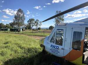 Man crushed against fencing on CQ cattle property