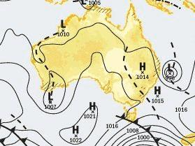 THE tropical low pressure system is expected to be sitting right off the Sunshine Coast by 10am Thursday.