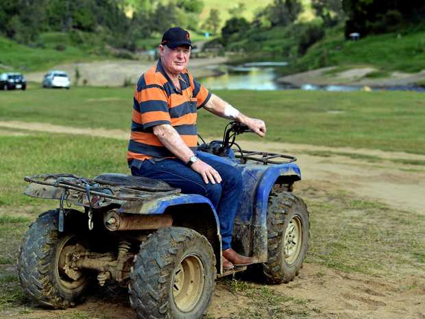 Kenilworth dairy farmer Shane Paulger has had an application to have campers on his farm approved by Sunshine Coast Council.