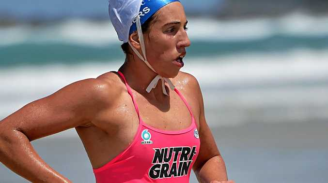 READY TO RACE: Noosa ironwoman Lana Rogers.