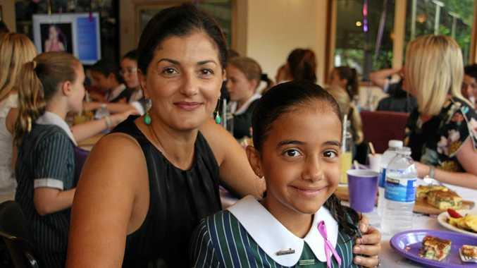 INSPIRING FEMALES: Angela and Mia Startari.