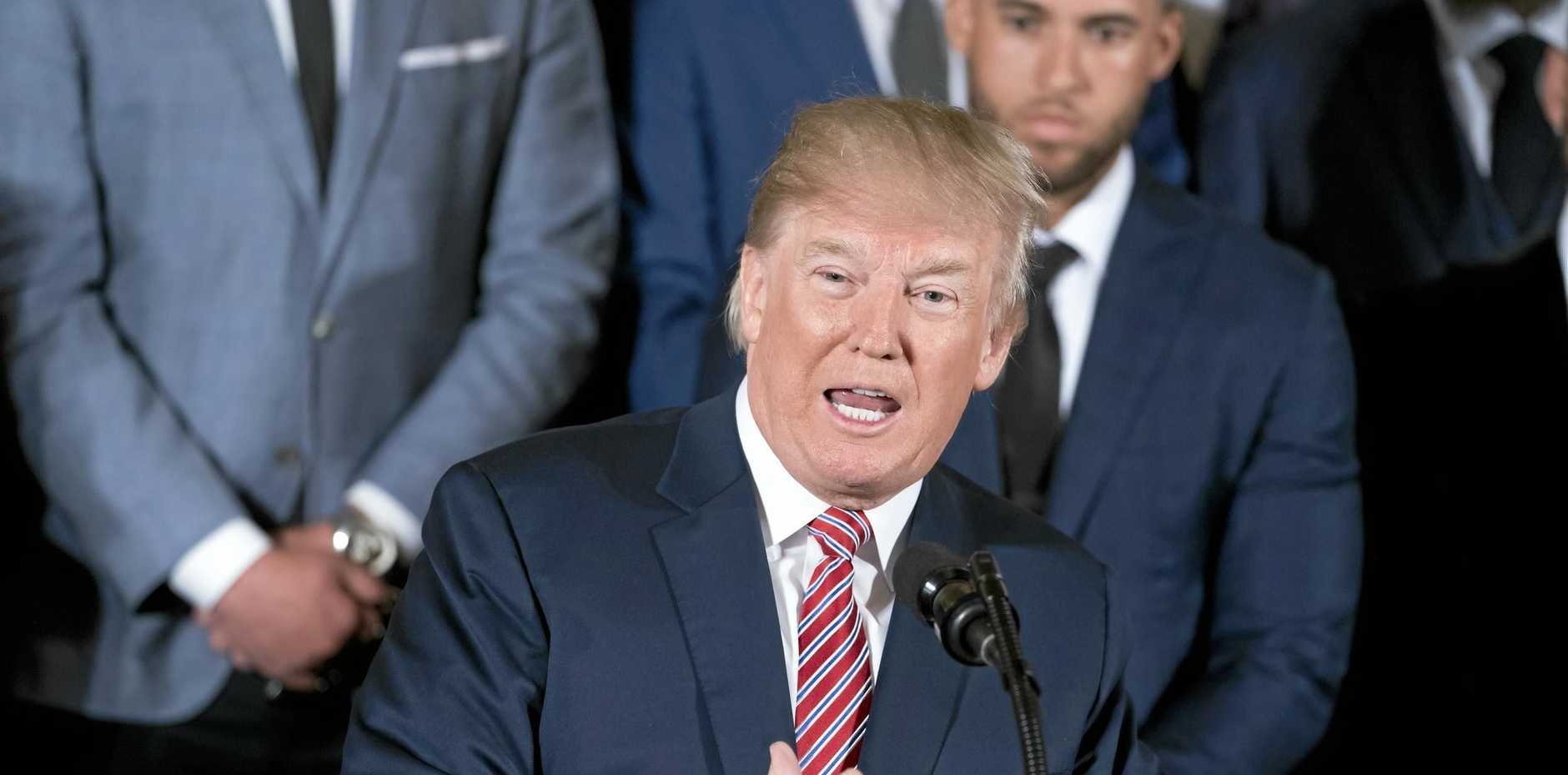 President Donald Trump's announcement of steel and aluminium tariffs on imports risks a full-blown trade war between the US and its major trading partners - China and the EU.