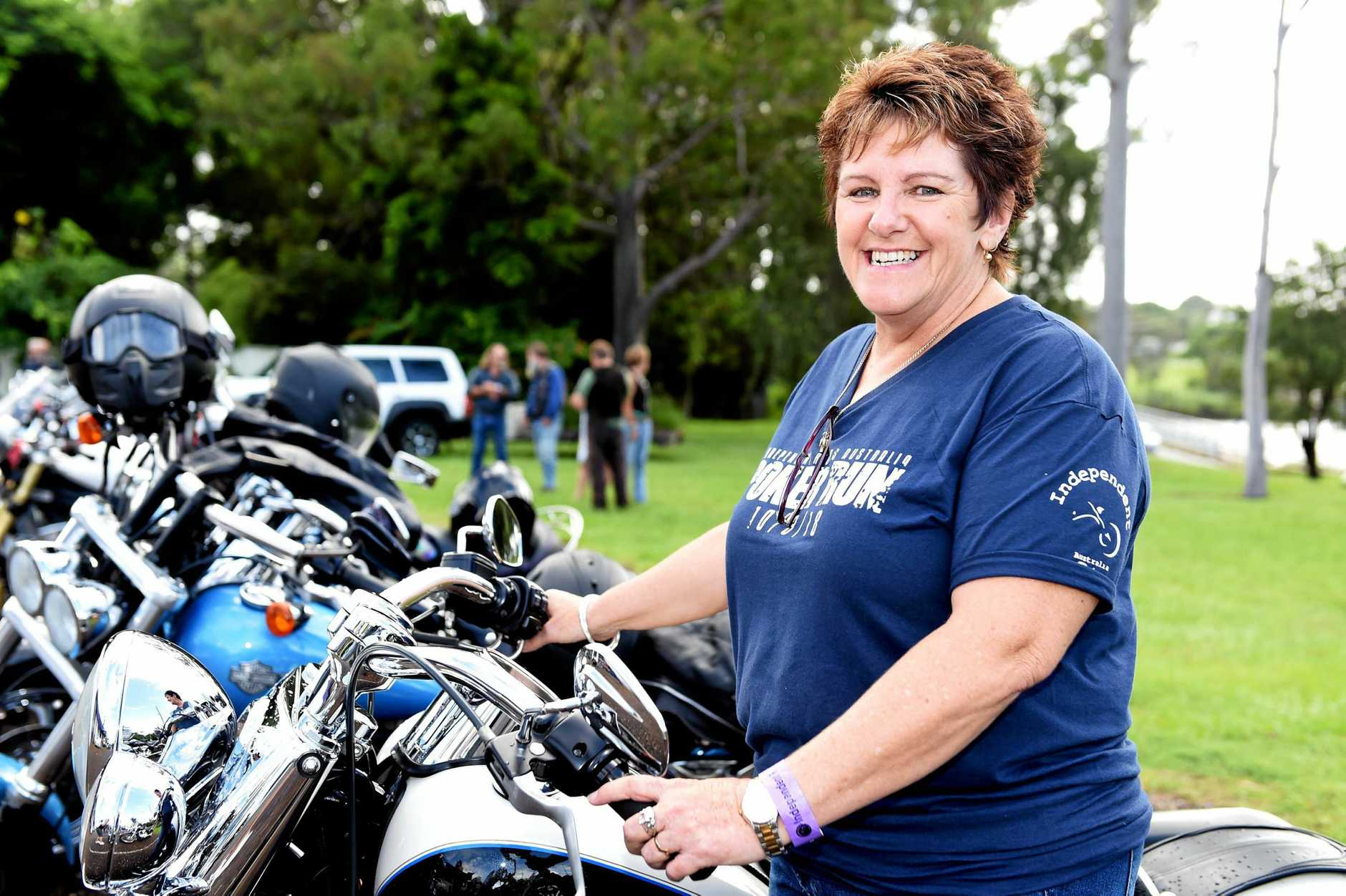 The Independant Riders, Fraser Coast Branch held the fifth annual Poker Run.  Raising money for military service care packages hits home for member, Julie Bellert. Her son, Sean, is currently deployed in Iraq.