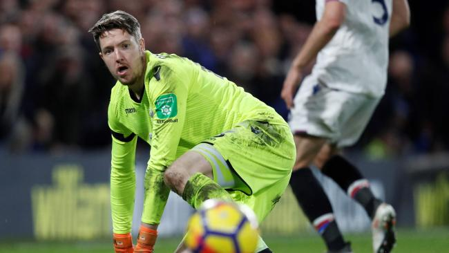Crystal Palace's Welsh goalkeeper Wayne Hennessey