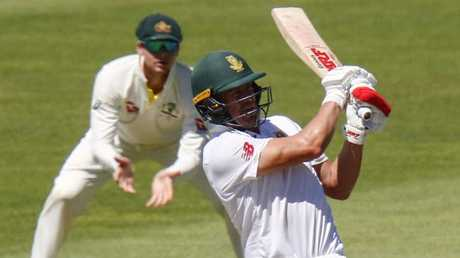 AB de Villiers was outstanding again on day four at the crease.