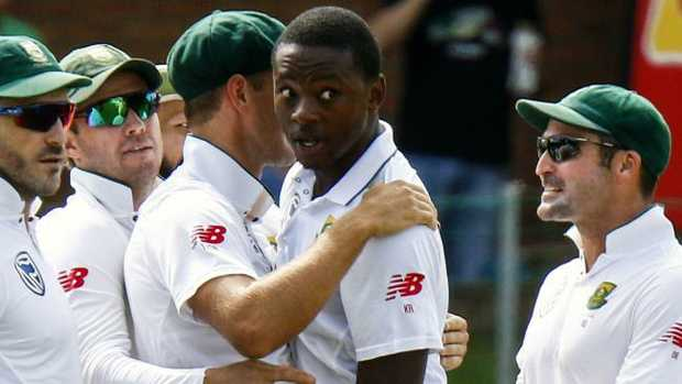 Kagiso Rabada is the no.1 Test bowler.