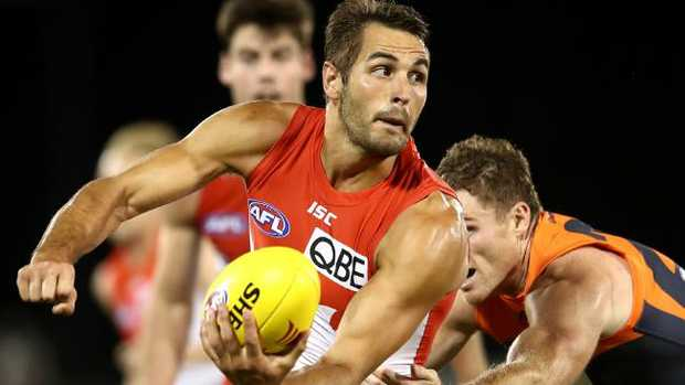 Sydney skipper Josh Kennedy in action. Picture: Getty