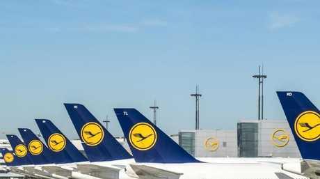The previous Lufthansa livery.