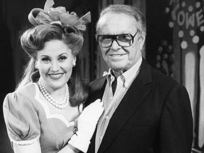 Sid Luft with the daughter he had with Judy Garland, Lorna, in 1993.