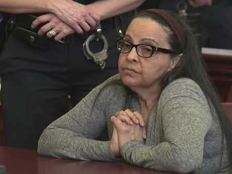 Yoselyn Ortega, 55, has admitted to the stabbings but pleaded not guilty by reason of insanity. Picture: WYNY-TV/Pool Photo via AP