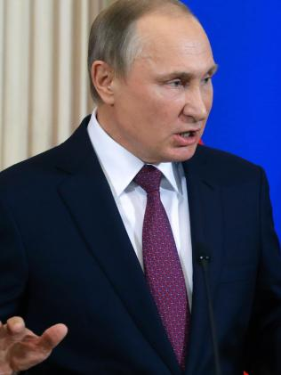 Russian President Vladimir Putin denies Russia had any involvement in the incident. Picture: AFP/Sergei Ilnitsky