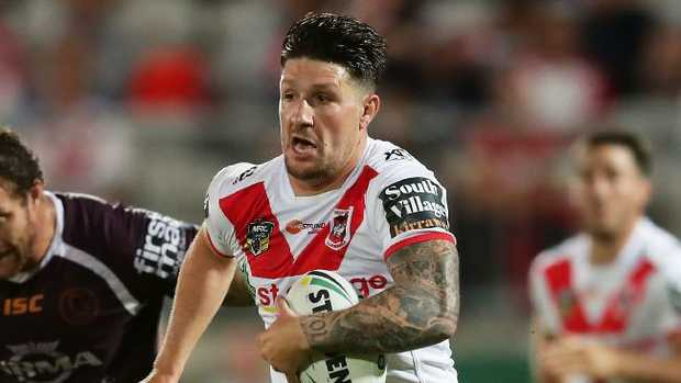 Gareth Widdop has gelled well with new halfback Ben Hunt.