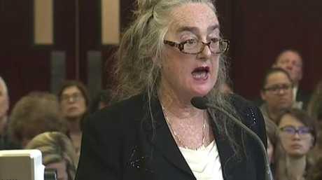 Defence lawyer Valerie Van Leer-Greenberg said Ms Ortega had an undiagnosed mental illness. Picture: WYNY-TV/Pool Photo via AP