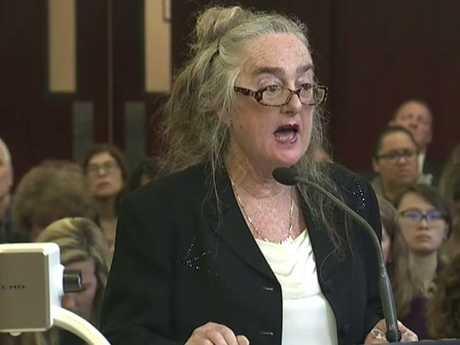 Defence lawyer Valerie Van Leer-Greenberg said Ms Ortega had an undiagnosed mental illness. Picture: WYNY-TV/Pool Photo via AP