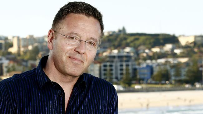 Psychic medium John Edward: Fiona's not convinced. Picture: John Appleyard