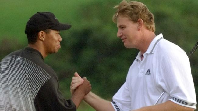 Tiger Woods and Ernie Els will captain the US and Internationals teams.