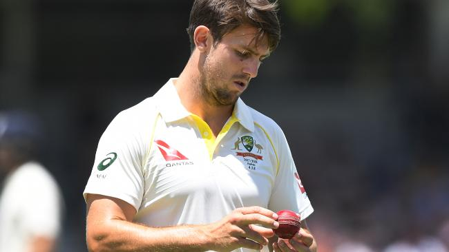 Mitch Marsh is battling a groin injury.