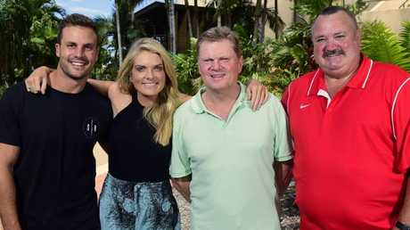 The old crew: Beau Ryan, Erin Molan, Paul