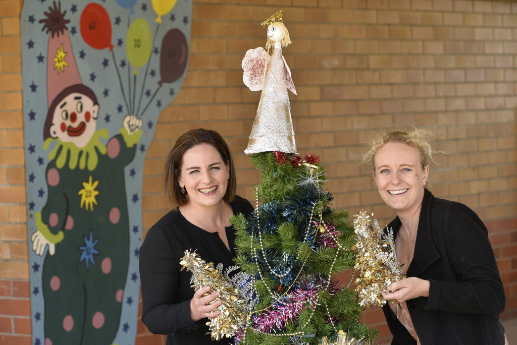 Emma Ehrlich (left) from Crave Food Festival and Amy Manz from the Highfields Village Markets have combined to create the Christmas Crave Food Festival to fill the void left by the closure of the annual Highfields Block Party, Wednesday, November 22, 2017.