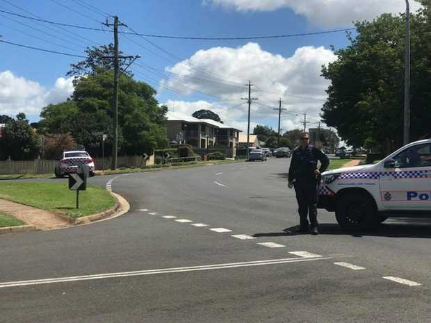 A major police operation is under way in Toowoomba.
