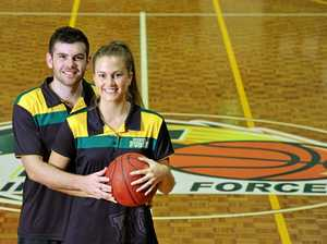 Popular Ipswich couple share love of basketball