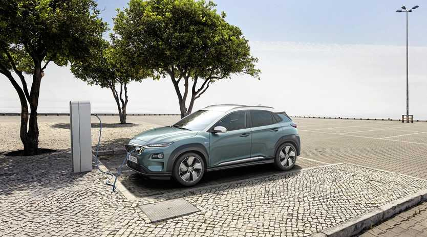 The Hyundai Kona Electric combines two fastest growing automotive trends - electrification and SUV style.