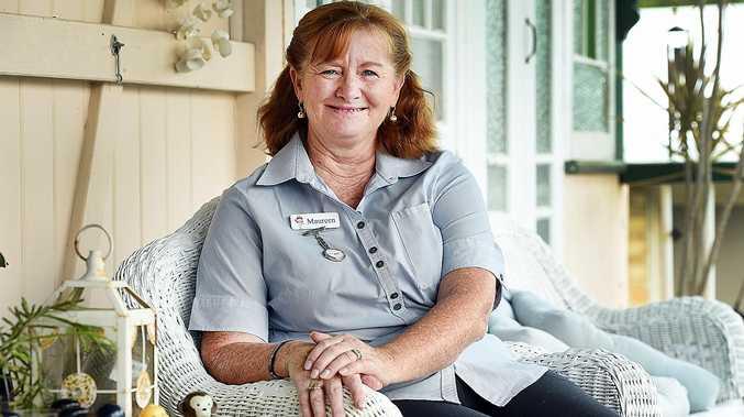 Maryborough nurse Maureen von Einem.
